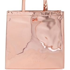 Ted Baker London Pink Mirrored Tote